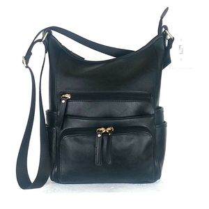 Kate & Alex Black Crossbody Bag